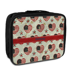 Americana Insulated Lunch Bag (Personalized)