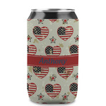 Americana Can Sleeve (12 oz) (Personalized)