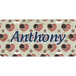 Americana Front License Plate (Personalized)