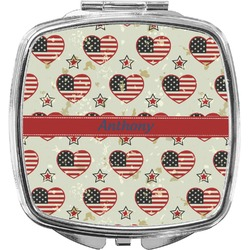 Americana Compact Makeup Mirror (Personalized)