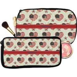 Americana Makeup / Cosmetic Bag (Personalized)