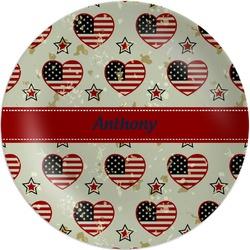 Americana Melamine Plate (Personalized)