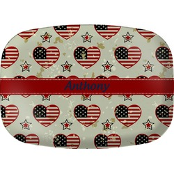 Americana Melamine Platter (Personalized)