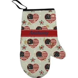 Americana Oven Mitt (Personalized)