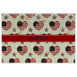 Americana Laminated Placemat w/ Name or Text