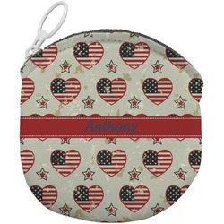 Americana Round Coin Purse (Personalized)