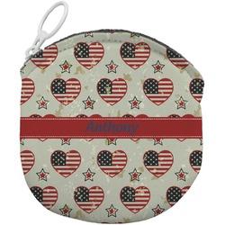 Americana Round Coin Purse (Personalized)