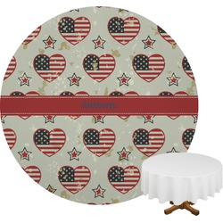 Americana Round Tablecloth (Personalized)