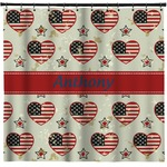 Americana Shower Curtain (Personalized)
