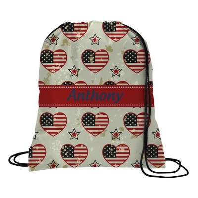 Americana Drawstring Backpack (Personalized)