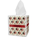 Americana Tissue Box Cover (Personalized)