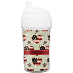 Americana Toddler Sippy Cup (Personalized)