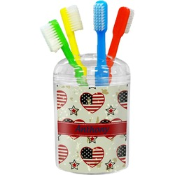 Americana Toothbrush Holder (Personalized)