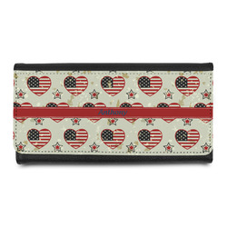 Americana Leatherette Ladies Wallet (Personalized)
