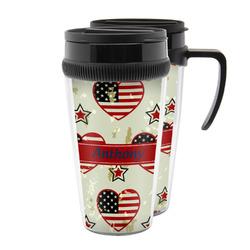 Americana Acrylic Travel Mugs (Personalized)