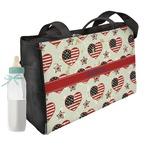 Americana Diaper Bag w/ Name or Text