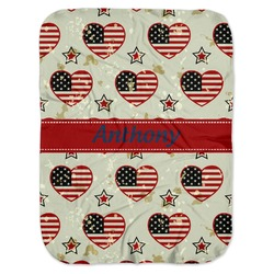 Americana Baby Swaddling Blanket (Personalized)