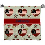 Americana Full Print Bath Towel (Personalized)