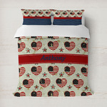 Americana Duvet Cover (Personalized)