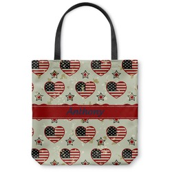 Americana Canvas Tote Bag (Personalized)
