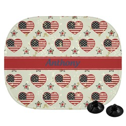 Americana Car Side Window Sun Shade (Personalized)