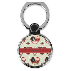 Americana Cell Phone Ring Stand & Holder (Personalized)