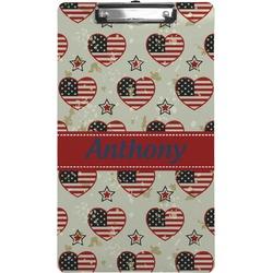 Americana Clipboard (Legal Size) (Personalized)
