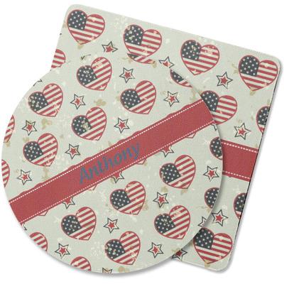 Americana Rubber Backed Coaster (Personalized)