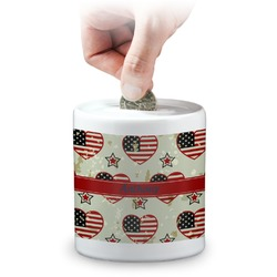 Americana Coin Bank (Personalized)