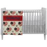 Americana Crib Comforter / Quilt (Personalized)