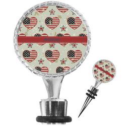 Americana Wine Bottle Stopper (Personalized)