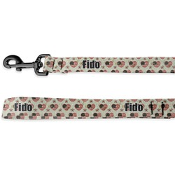 Americana Deluxe Dog Leash (Personalized)