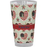 Americana Drinking / Pint Glass (Personalized)