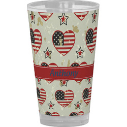 Americana Drinking / Pint Glass (Personalized)
