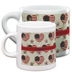 Americana Espresso Cups (Personalized)