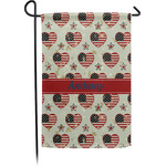 Americana Garden Flag - Single or Double Sided (Personalized)