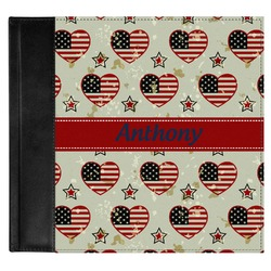 Americana Genuine Leather Baby Memory Book (Personalized)