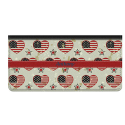 Americana Genuine Leather Checkbook Cover (Personalized)