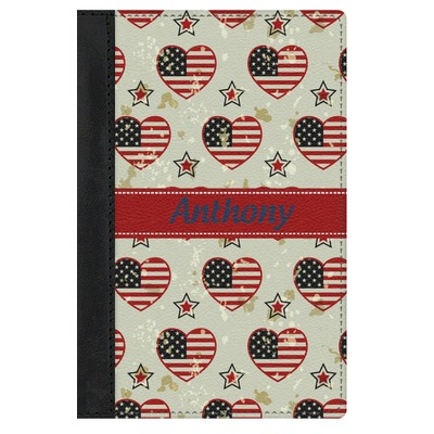 Americana Genuine Leather Passport Cover (Personalized)