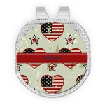 Americana Golf Ball Marker - Hat Clip