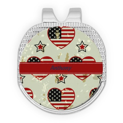 Americana Golf Ball Marker - Hat Clip