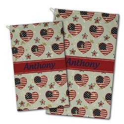 Americana Golf Towel - Full Print w/ Name or Text