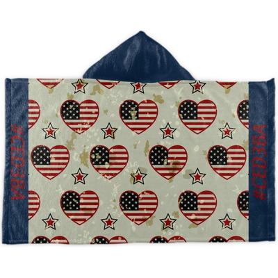 Americana Kids Hooded Towel (Personalized)