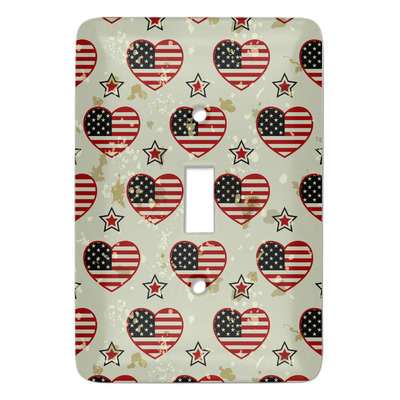 Americana Light Switch Covers (Personalized)