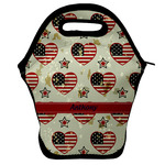 Americana Lunch Bag w/ Name or Text