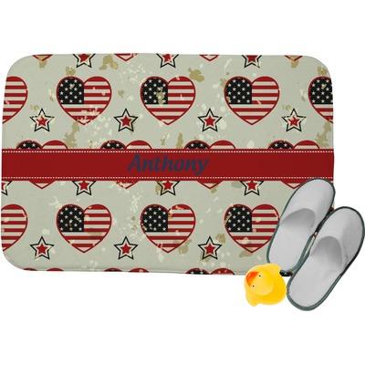 Americana Memory Foam Bath Mat (Personalized)