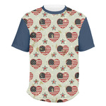 Americana Men's Crew T-Shirt (Personalized)