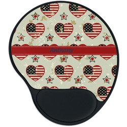 Americana Mouse Pad with Wrist Support