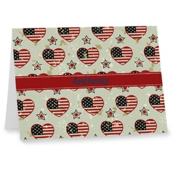 Americana Note cards (Personalized)