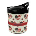 Americana Plastic Ice Bucket (Personalized)